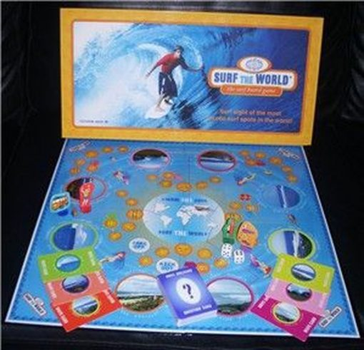 , Surf The World Board Game