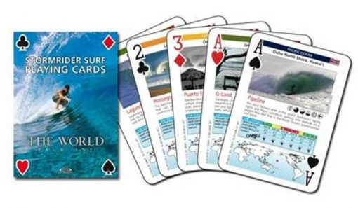 , The Stormrider Surf 'Playing Cards' The World [Pack One]